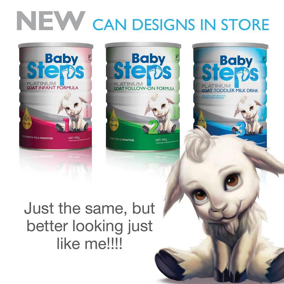 Sữa dê cao cấp Baby Steps