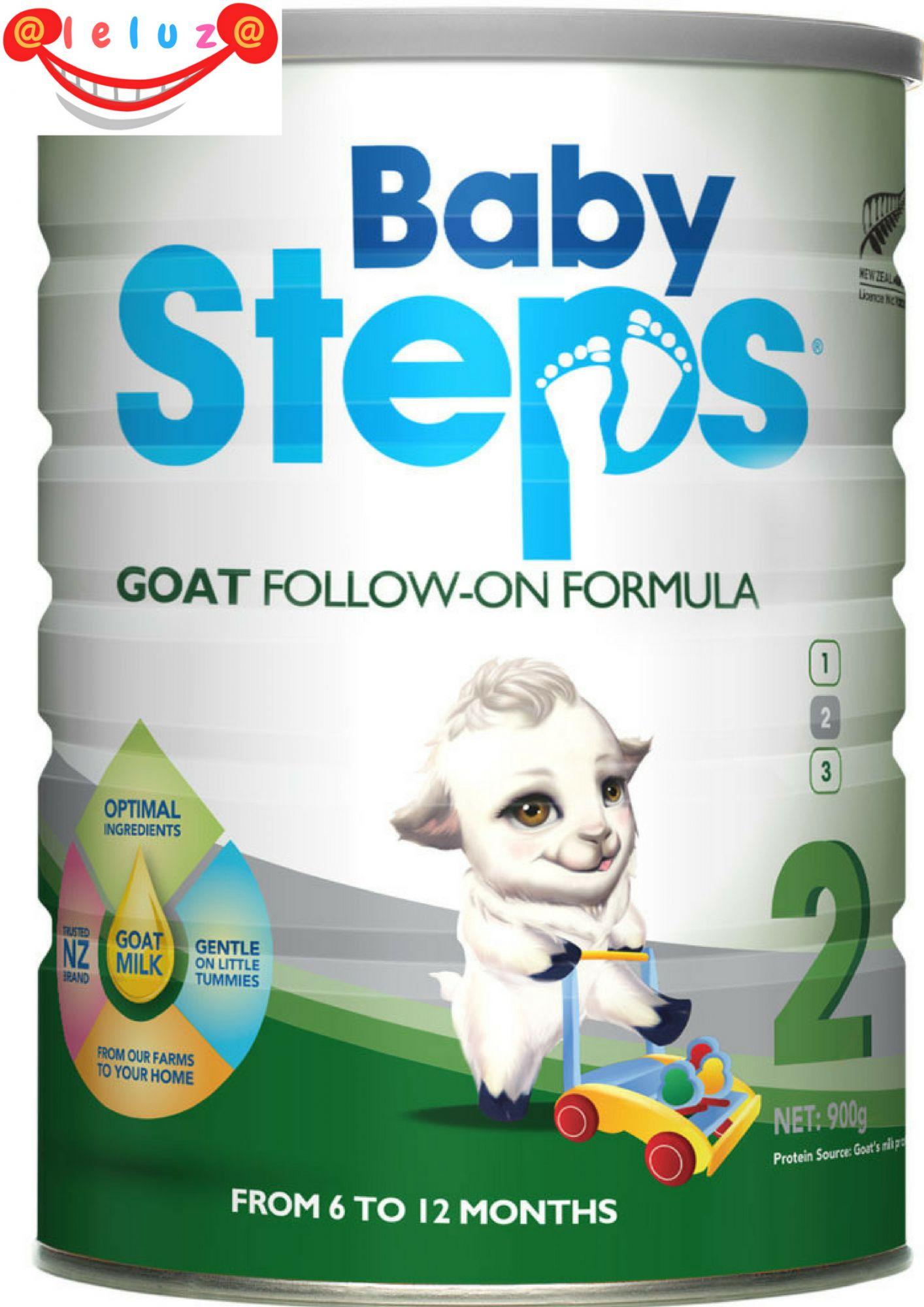 Sữa dê cao cấp Baby Steps số 2 FOLLOW-ON FORMULA