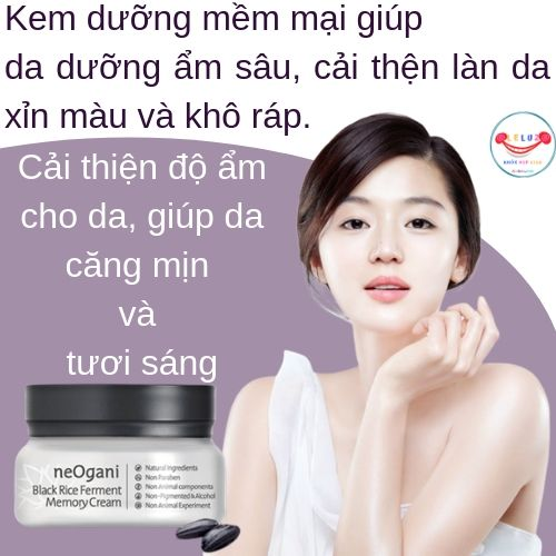 Kem Lên Men Gạo Đen NeOgani Black Rice Ferment Memory Cream