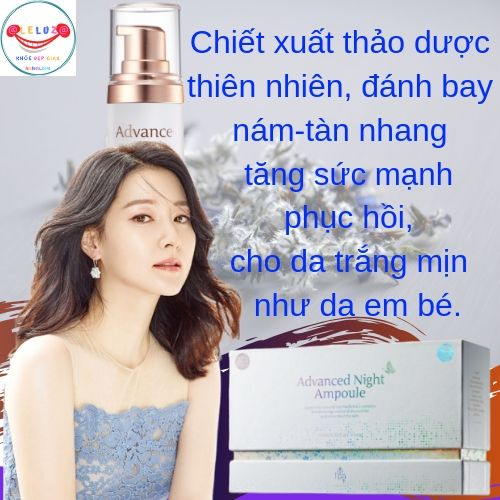 Trị Nám - Tàn Nhang Guboncho Advanced Night Ampoule